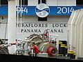 Crewman on Container Ship Passing through Miraflores Locks - Panama Canal.jpg