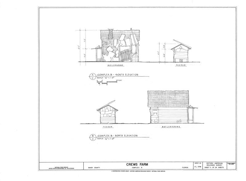 File:Crews Farm, Macclenny, Baker County, FL HABS FL-398 (sheet 11 of 24).tif