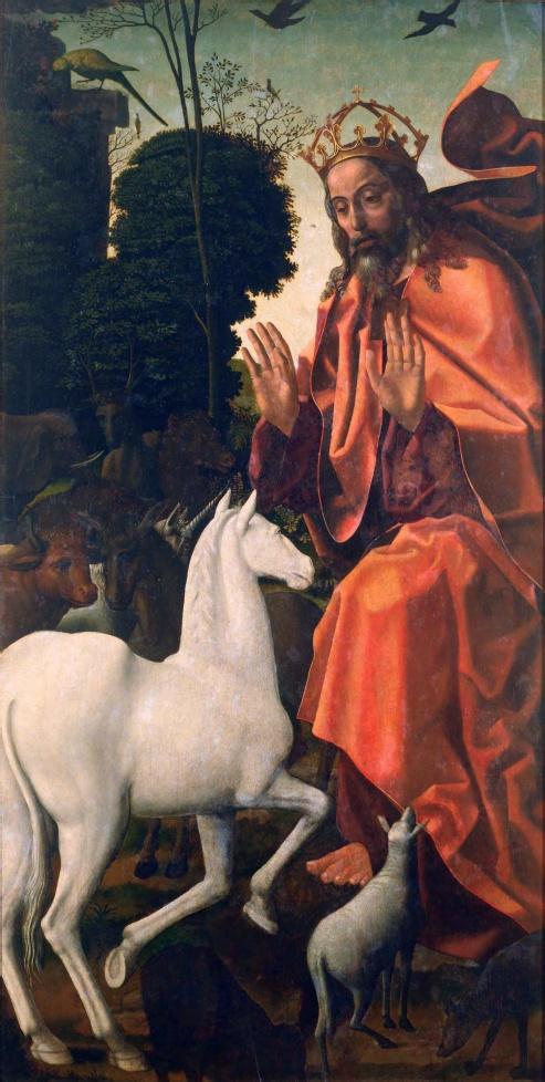 Criação dos Animais (1506-11) - Vasco Fernandes (Museu de Lamego)
