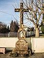 Croix avec représentation du Bon Berger, rue de Mulhouse. Ammertzwiller.jpg