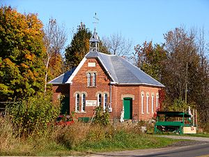 Rideau Lakes, Ontario - Image: Crosby ON