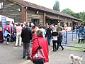 Crowds outside the Training Houses at the Hearing Dogs Summer Fayre - geograph.org.uk - 1344276.jpg