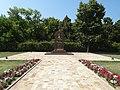 Crveni Krst concentration camp in Niš, spomenik Crvenoarmejcima ispred logora 24.jpg