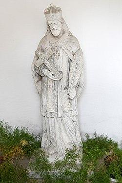 Csorna, Nepomuki Szent János-szobor 2020 04.jpg