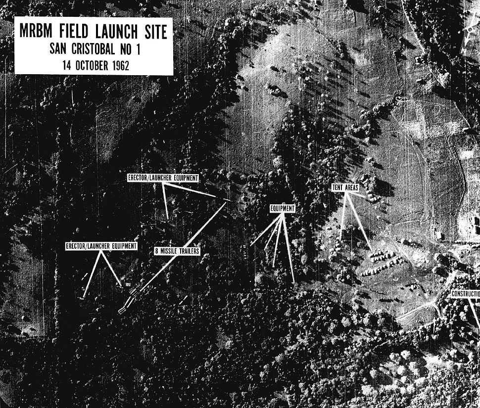 Cuba Missiles Crisis U-2 photo