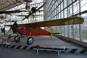 Curtiss Robin - A Curtis Robin in the Seattle museum of flight, 2011