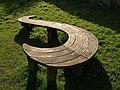 Curvy seat, Parke - geograph.org.uk - 1210223.jpg