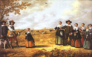 Jacob Gerritsz. Cuyp - Jacob Gerritsz Cuyp, Portrait of a Family in a Landscape, 1641