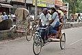 Cycle Rickshaw - KN Katju Road - Allahabad - 2014-07-06 7341.JPG