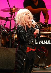 Cyndi Lauper at the Beacon Theater.