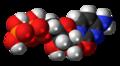 Cytidine diphosphate 3D spacefill.png