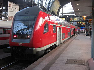Bombardier Double-deck Coach - In use by Deutsche Bahn