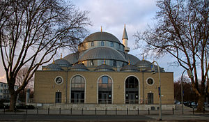 Turkish-Islamic Union for Religious Affairs - DİTİB-Merkez-Mosque in Duisburg
