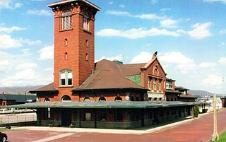 Railroad Terminal Historic District United States historic place