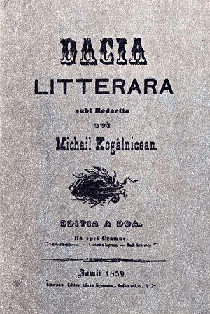 Dacia Literară - Dacia Literară, second edition
