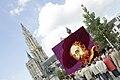 Dahliatableau Rubens Groenplaats Antwerpen 2007.jpg
