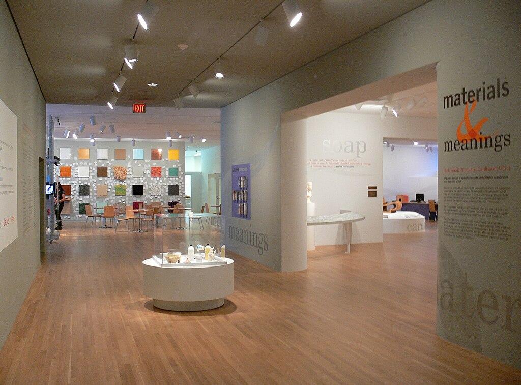 interior room of dallas museum of art