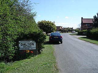 Dalton-on-Tees Village and civil parish in North Yorkshire, England