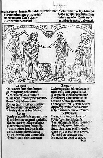 The Parson's Tale - Parson and Ploughman in a Danse Macabre