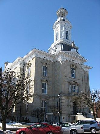 Darke County, Ohio - Image: Darke County Courthouse