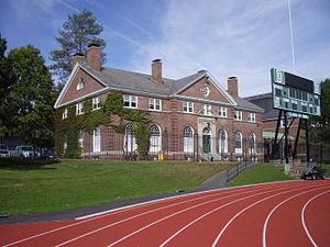 Dartmouth Big Green - Image: Dartmouth College campus 2007 10 03 Davis Varsity House