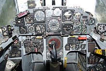 Instrument Panel of a F-104
