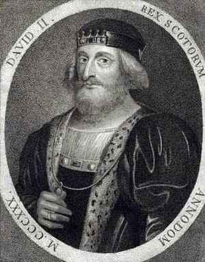 David II of Scotland - Image: David II of Scotland by Sylvester Harding 1797