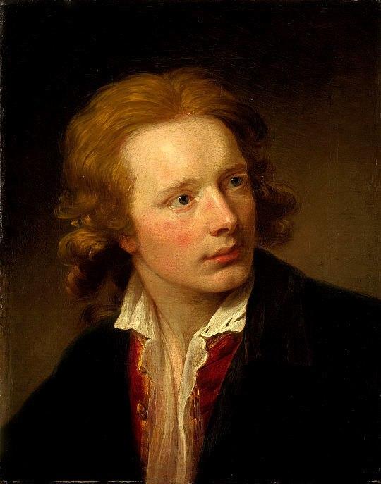 David Martin self-portrait c1760