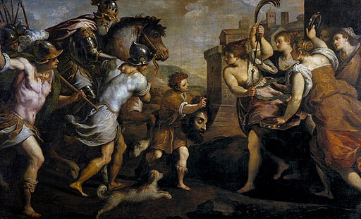 David vencedor de Goliat, de Palma el Joven (Museo del Prado)
