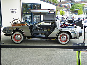 Back to the Future Part III - One of the DeLorean vehicles used in the film