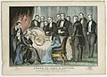 Death of Genl. Z. Taylor, 12th President of the United States (4359272337).jpg