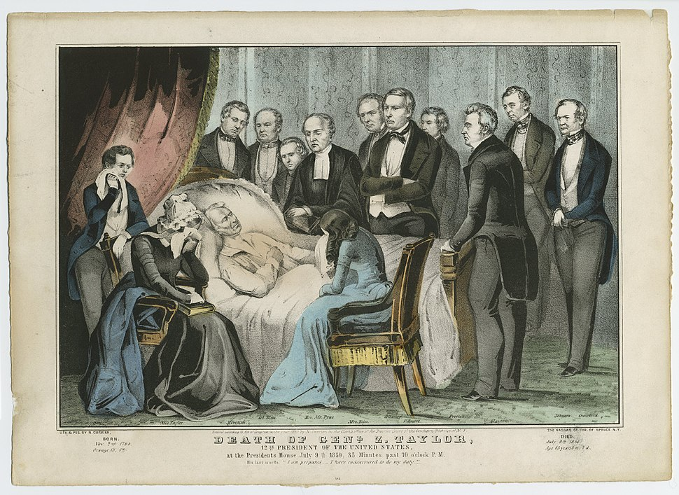 Death of Genl. Z. Taylor, 12th President of the United States (4359272337)