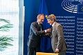Debate on lat week's EU Summit with Council President Tusk and EC Vice-President Šefčovič (48195754367).jpg