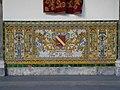 Decoració ceràmica a Capitania General de Barcelona - Juan de la Pezuela.JPG
