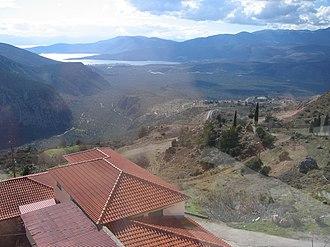 Delphi (modern town) - Image: Delphi Greece (34)