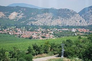 Demir Kapija Town in Vardar, North Macedonia
