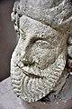 Detail. Head of an unidentified man from Hatra, Iraq. 2nd-3rd century CE. Sulaymaniyah Museum, Iraqi Kurdistan.jpg