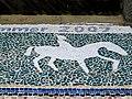 Detail of artwork mosaic - Greenhill Gardens - geograph.org.uk - 1940258.jpg