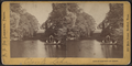 Devil's Lake. (Including view of young women in a rowboat.), by De Lamater, R. S. (Richard S.).png