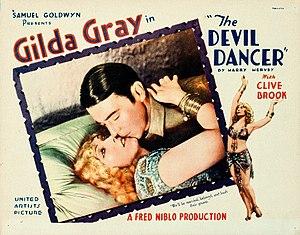 The Devil Dancer - Lobby card