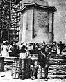 Dewey Monument, San Francisco earthquake of 1906.jpeg
