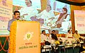 Dharmendra Pradhan addressing the gathering, at the launch of the IGL Smart Card, prepaid CNG cards for both retail and fleet customers, in New Delhi (1).jpg