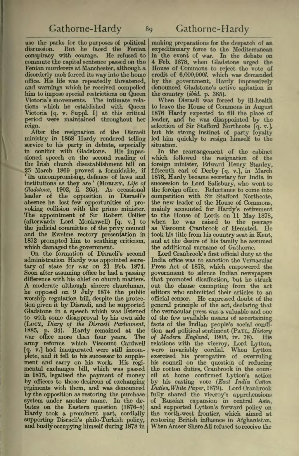 Page dictionary of national biography second supplement for Forward dictionary