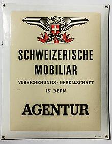 Schweizerische mobiliar wikipedia for Versicherung mobiliar