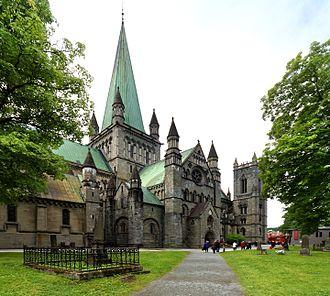 Nidaros Cathedral - Image: Die Nidaros Kathedrale in Trondheim. 02