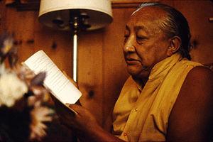 Dilgo Khyentse - Dilgo Khyentse Rinpoche in Seattle, 1976