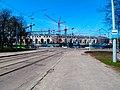 Dinamo National Olympic Stadium under Construction Cranes in Minsk 3 May 2017.jpg