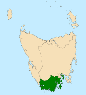 Division of Franklin Australian federal electoral division