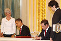 Dmitry Medvedev with Barack Obama 6 July 2009-6.jpg