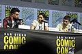 Dominic Cooper, Ruth Negga & Joe Gilgun (43702961271).jpg